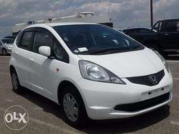 Honda fit white chalk