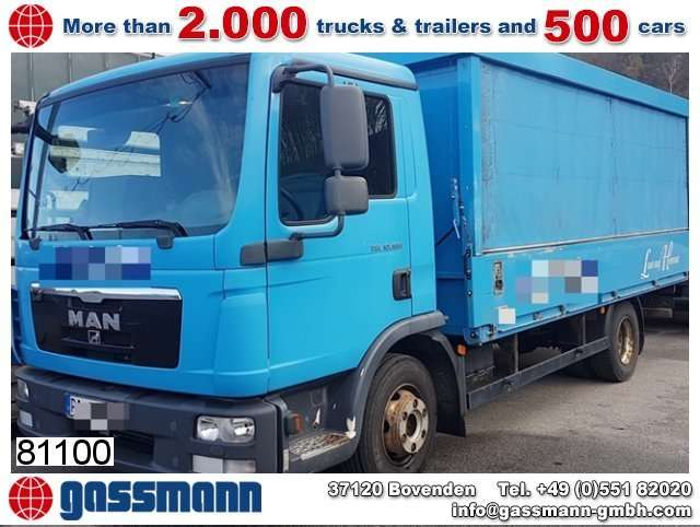 MAN Tgl 10.180 4x2 Bb Getränkewagen - 2011