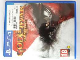 God of war 3 ps4 game