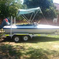 boat to swop for jetski or bike