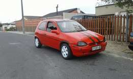 Opel corsa 1.3 in good driving condition.fuel saver!.R12,500neg