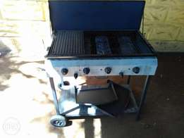 Bush Baby 4 burner gas braai good condition