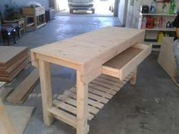 Heavy Duty Wooden Work Benches For Sale