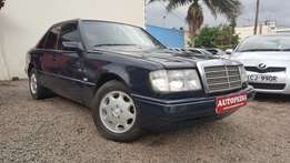 The Legendary Mercedes-Benz 230E , 124 Series, Dark blue, Year 1990