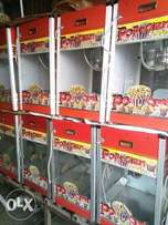 Automatic popcorn machine