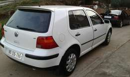 VW Golf 4 1.6 Sr in excellent condition