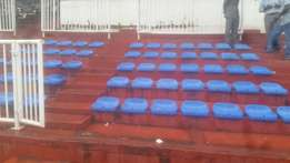 Stadium plastic chair