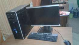 Core i5 hp tower 21 inch tft
