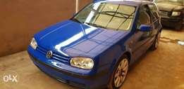 Very clean 2000 Volks Golf4 Toks