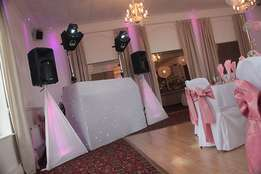 Mobile deejays , Wedding entertainers, Sound, Events lights hire