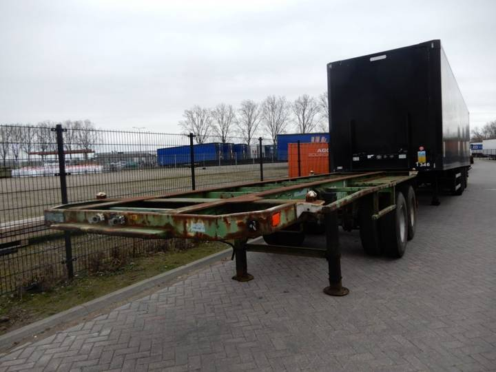 Flandria 3x 20 FT Chassis / Steel suspension / Double montage - 1984