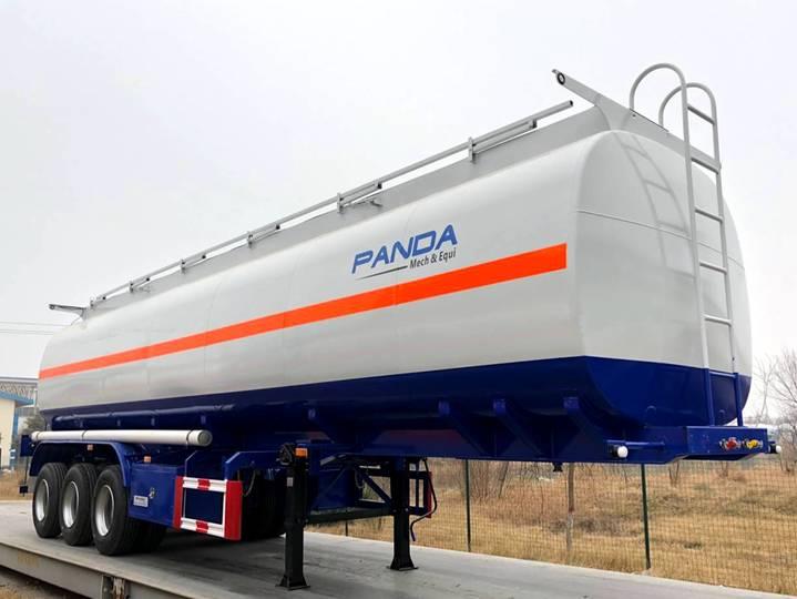 Panda Fuel Tanker Trailer, Oil Tanker Trailer - 2018