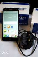 5 inches Alcatel Pop 4 with charger
