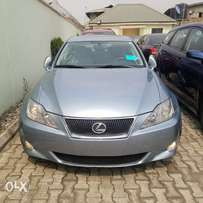 2007 Model Sky Blue Is350 Lexus Fully Loaded Selling Cheap Toks