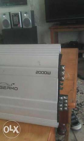 Germo 2000watts amplifier car booster very powerful Gilgil - image 4