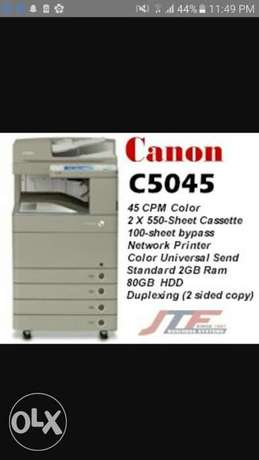 Canon image RUNNER C5045 Color Copier, Printer & Scanner