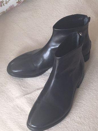 57e7c1e313bc0 Sztyblety męskie Venezia. - Bydgoszcz - Sprzedam buty męskie firmy Venezia.  Skórzane w bardzo