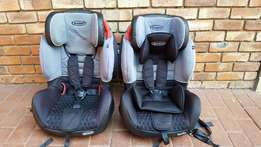2 x Bambino ''Elite'' ISOFIX Car & Booster Seats (Group 9 - 36 kg)