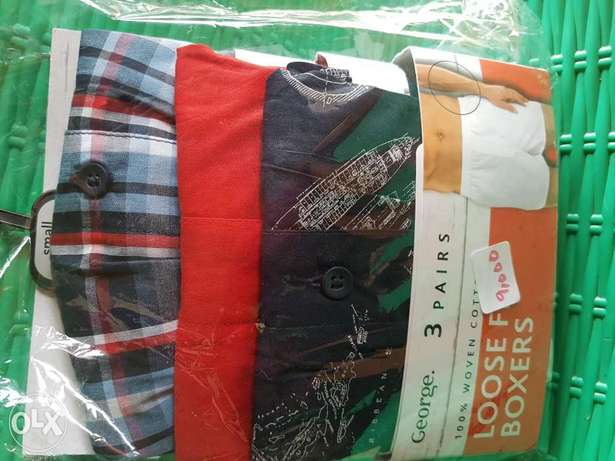100% cotton superfine woven boxers 3 in a pack Ibadan South West - image 4