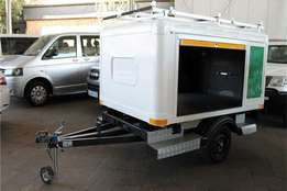 2.5 m X 1.6m pets or animals transport trailers with warranty