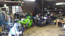 Honda vfr 400 nc24 and nc30 parts for sale