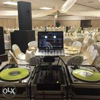 PA system , DJ services , Disco lighting hire