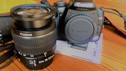 Canon Eos 450D with Canon Lens 18-55mm- R2750 (like new) see pics
