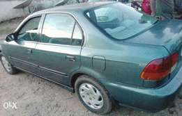 clean Honda civic is for sale in kubwa