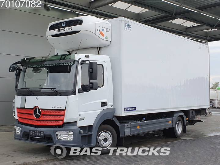 Mercedes-Benz Atego 1018 L 4X2 German-Truck Trennwand Ladebordwand Euro 6 - 2013