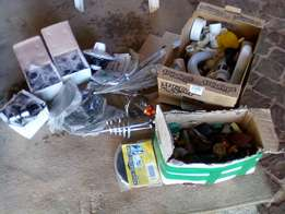 Plumbing and stove items