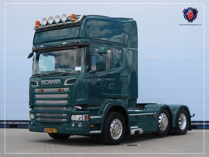 Scania R560 LA6X2/4MNB | V8 | 8T | Leather seats | Navi | PTO | ... - 2013