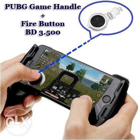 PUBG (Andriod & iOS)Gaming Trigger L1R1 Shooter Controller & Handle