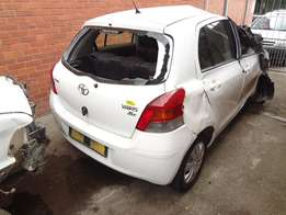 Toyota Yaris now stripping for spares