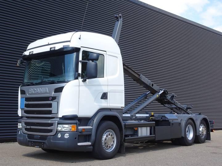 Scania G450 EURO 6 / 6x2 HOOKLIFT / RETARDER / 182 DKM! - 2016