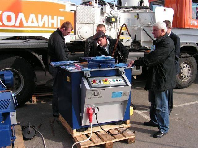 Stanok dlya izgiba i rubki armatury TR 38/45 industrial - 2008
