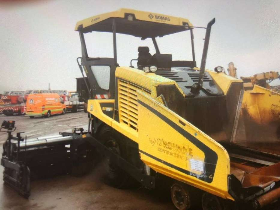 BOMAG Bf 600 P - 2014