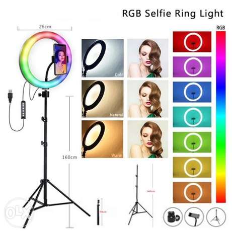 Ring light RGB 26cm