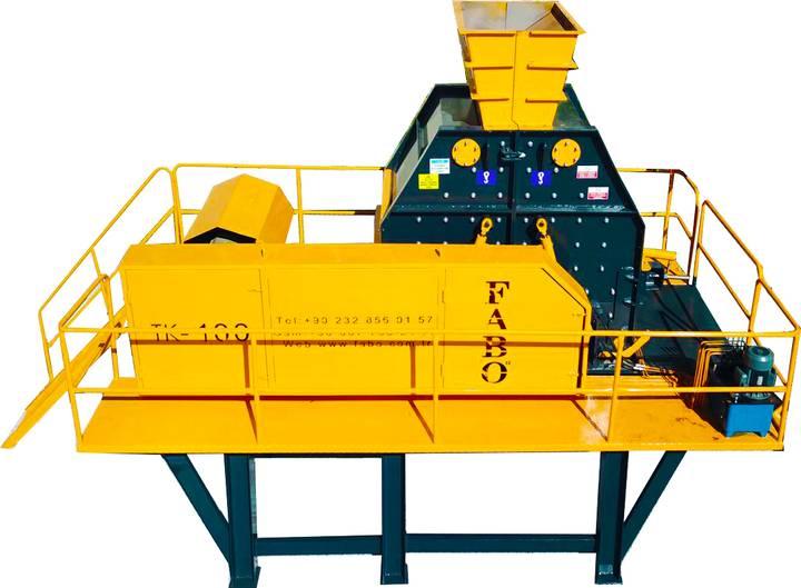 Fabo 150-200TPH SERIES TK-100 TERTIARY IMPACT CRUSHER   SAND MACHINE