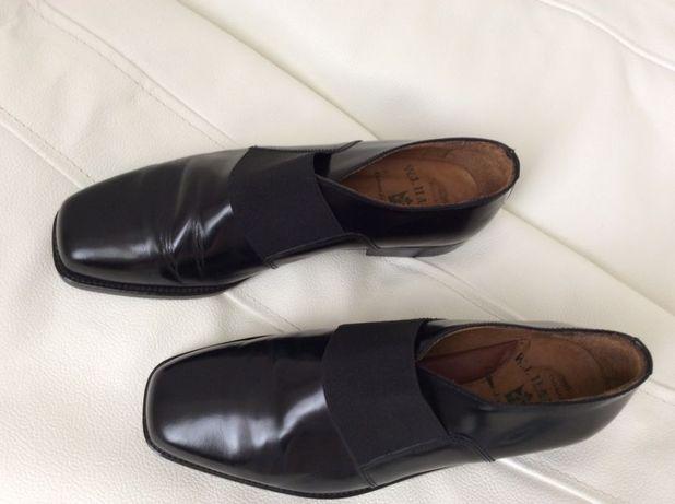 Дешево!Стильные кожаные туфли лоферы W.J.HABBOT 1d4c2552cb3cb