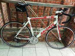 Avalanche solo road bike large frame for sale.