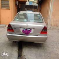 A clean naija used 1998 mercedes benz C230 for sale