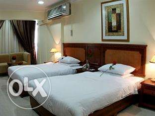 daily rent fully furnished rooms in the hotel