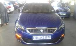 2016 peugeot 308 3.0 for sell R190000