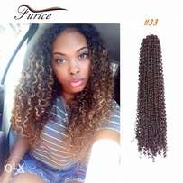 curly crochet hair extension