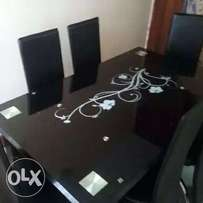 Quality and durable glass dining table