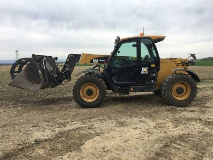 Caterpillar th 408 d perf + - 2017