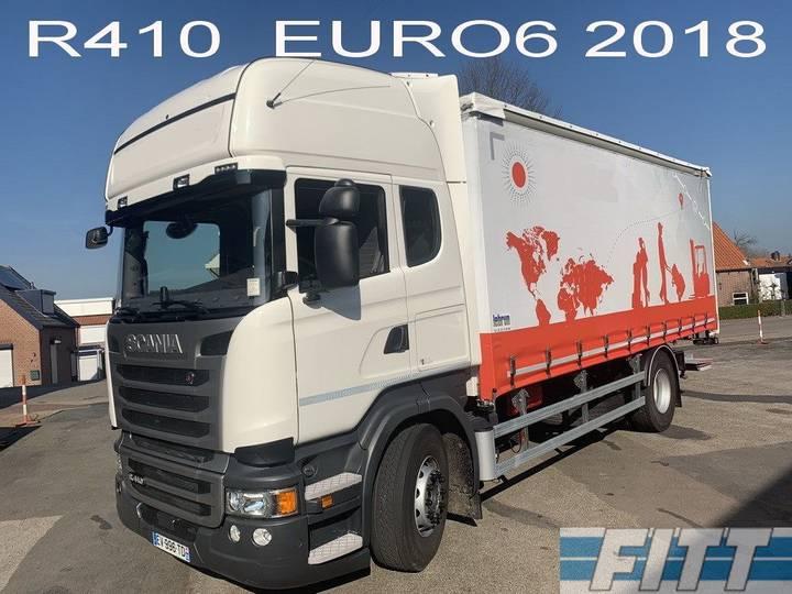 Scania R410 2018, LESAUTO, 6 zitplaatsen, dubb bediening, schuif... - 2018