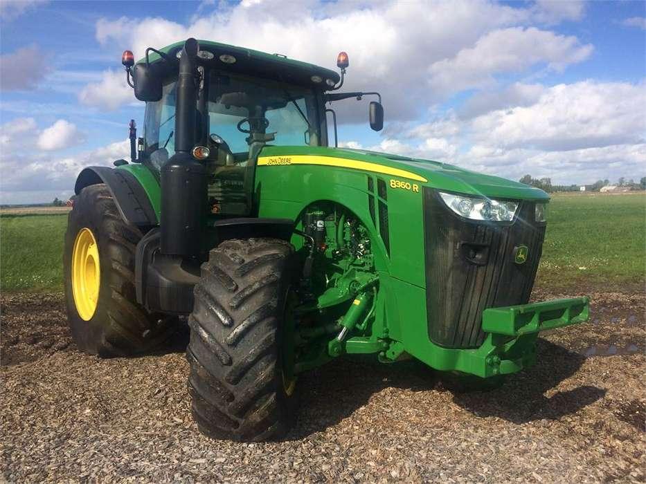 John Deere 8360r Ap Traktor - 2012 - image 2