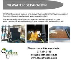 Oil / Water Separation Technologies - Industrial