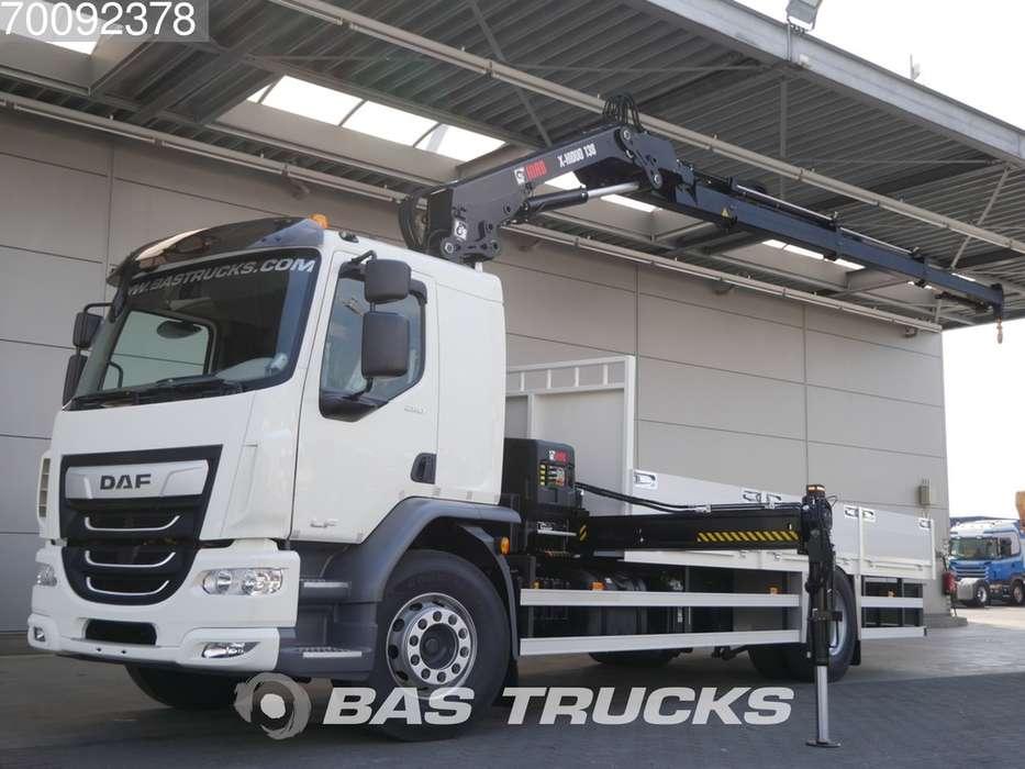 DAF LF 290 4X2 Hiab X-HiDuo 138 ES-3 Safety Package Euro 6 18T - 2019